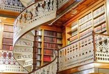 Libraries We Like / Libraries we wouldn't mind being left in after closing time.