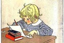 Vintage Book Illustrations / Nostalgic illustrations from vintage books.
