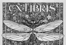 Ex Libris - Bookplates / A carefully-picked selection of illustrated bookplates.