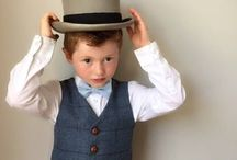 Pageboy inspiration waistcoats and bow ties / Pageboy inspiration - waistcoats and bow ties Wedding ideas