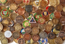 Masonic - Mark Tokens / Tokens or coins as used in the Mark degree of Freemasonry. / by Jim Campbell