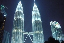 Kuala Lumpur / Kuala Lumpur - hlavní město Malajsie a častý přestupní bod při cestách po JV Asii