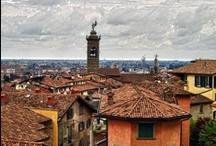 Bergamo / Bergamo je město, kam mnozí cestovatelé zamíří alespoň při přestupu na letišti BGY.