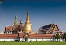 Bangkok / Hlavním městem Thajska, hlavním bodem většiny cestovatelů do koutů JV Asie