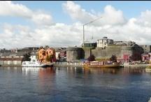Athlone / Irské město Athlone se nachází v samotném středu země.