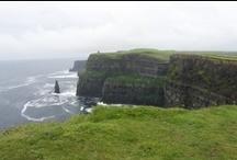 Moherské útesy / Cliffs of Moher najdete na západním pobřeží Irska