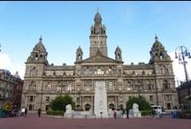 Glasgow / Glasgow je průmyslové město a pyšní se pozicí 3. největšího města ve Velké Británii.
