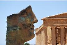 Agrigento / Agrigento se nachází na italském ostrově Sicílii