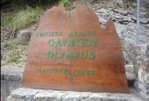 Olymp / Bájná hora Olymp leží nedaleko Soluně v Řecku