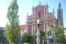 Lublaň / 300 tisícové hlavní město Slovinska