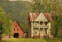 Old farm houses / by Candy Poole