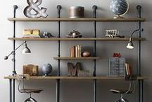 Storage and Shelving / Modern and stylish storage solutions. Interior design inspiration for every loft apartment or warehouse home, from reclaimed wooden crates to industrial steel lockers.