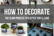 Decorating Tips & Colors