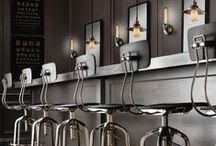 Style: Industrial / Industrial home decor and interior design inspiration for your loft apartment or warehouse home, from factory lights to metal cabinets.