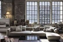 Style: Contemporary / Cool and quirky contemporary home decor and interior design inspiration for your loft apartment or warehouse home.