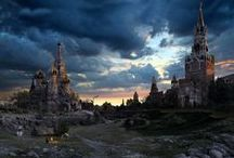 Post-Apocalyptic Places / RPG and roleplay inspiration for post-apocalyptic places -- or places that just look that way!