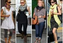 Scarf tying techniques / How to wear scarves different ways