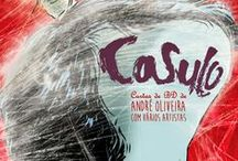 Casulo / Short Comics Stories, all written by me to various artists, published in portuguese magazines.
