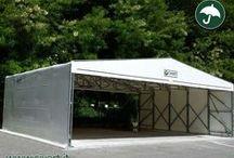 Capannoni mobili, Coperture PVC, Tunnel scorrevoli / Capannoni mobili, coperture scorrevoli, tunnel in pvc, magazzini tempornei