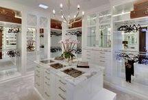 Luxury & Glam / Luxurious lifestyle - Glam - closets - inspiration - motivation