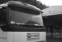 """Foto con logo Civert """"Made in Italy"""" / Capannoni e coperture mobili Civert - foto con logo e """"Made in Italy"""" #CoperturaMobile #CoperturaPVC"""