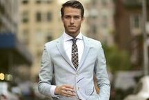 Suits and ties / Style inspiration for men