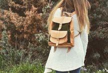 Handmade leather Greek backpack. Feel the love by  Rena Xenou / Handmade leather Greek backpack ! Feel the love by  Rena Xenou
