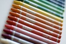 Värit - Colors / Maailma on täynnä ideoita, parhaimmat niistä tulee luonnosta