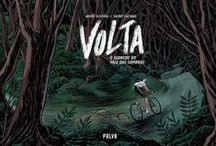 Volta - O Segredo do Vale das Sombras / Volta - O Segredo do Vale das Sombras is a comics album, written by me and illustrated by André Caetano. It's published by Polvo and was released in june, 2015.