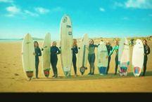 Surf Senioritas / Surf Senioritas is one the biggest female only surf groups in the UK