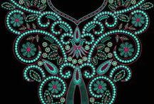 Embroidery Neck Designs