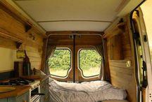 H O U S E  on wheel / Camping car / Caravane / Fourgon aménagé