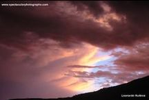 Sunset sequences 4 / Sunset sequences over the Andes, Pichincha volcano, Quito, Ecuador