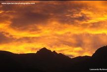 Sunset sequences 7 / Sunset sequences over the Andes, Pichincha volcano, Quito, Ecuador