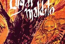 Lugar Maldito / Lugar Maldito is a comics album, written by me and drawed by João Sequeira. It's published by Polvo and was released in may, 2017.