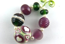 """Art beads and more / Art beads, """"tiny"""" in their physics but grand in their appearance. I love art beads. I admire art bead creators. I collect art beads. Art beads inspire me in my designs."""