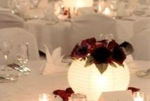 Non-Floral Wedding Centerpieces / Candles, lanterns, and paper centerpieces, etc. / by Jeanie Gregorich