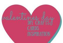 Valentines Day / valentines day crafts, diy, cards, and inspiration / by Rhonda @ MultiTaskingMaven