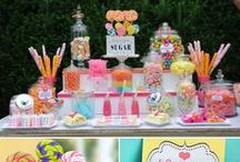 CANDY/ICE CREAM PARTY IDEAS