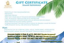 Special Offers / Badian Island Resort and Spa's Board for Special Offers and Promotions