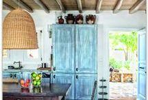 Country kitchen furniture / Vidéki stílusú konyhabútor