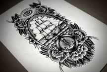 Tattoo. / Tat inspiration... maritime stylie.