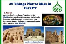 30 Things not to miss in Egypt / 30 Things not to miss when you are visiting Egypt