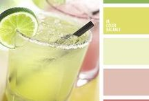 Colour / Welcome to our colour palettes board.  It's here to bring you inspiration.