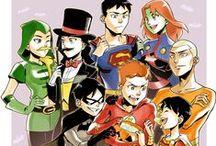 DC Comics & Marvel