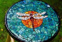 Mozaieken / Mozaiek ideetjes