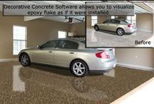 Decorative Concrete Software Design Examples / Decorative Concrete Software Available Concrete Colors and Patterns