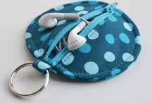 Sewed pouches and Bags / Cute and Fancy pouches, bags, cases, pencil cases, covers and more!!!