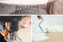 DIY - Wohnung / DIY Ideen für die Wohnung - schnell & einfach die Wohnung verschönern, ob neu gebaut oder alte Möbel aufgehübscht inkl. IKEA hacks
