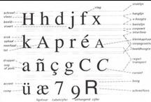 Typografie / Letters staan centraal en zijn overal - ter inspiratie!